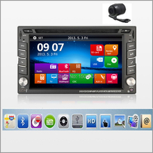 New universal Car Radio Double 2 Din Car DVD Player GPS Navigation USB In dash Car PC Stereo Head Unit video+Free Map subwoofer