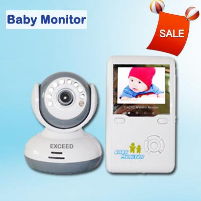 big sale 2 4g wireless digital lcd baby monitor security camera digital talk. Black Bedroom Furniture Sets. Home Design Ideas