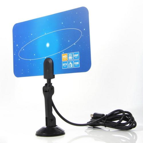 1pcs HDTV DTV VHF UHF PC NB Flat Digital Indoor HD TV High Gain Antenna 1080 i P Promotion(China (Mainland))