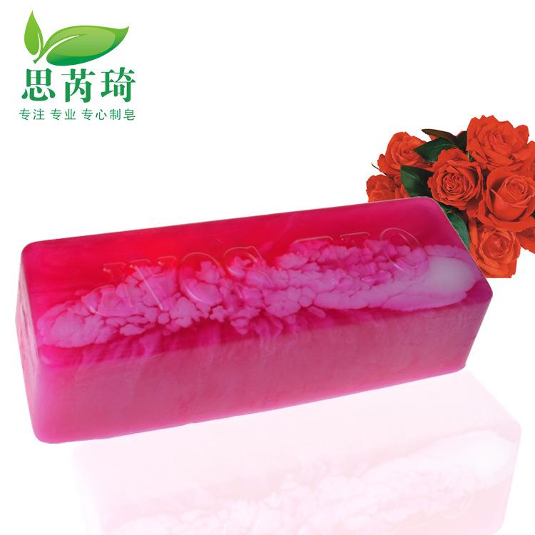 1KG Pure Natural Rose Essential Oil Rose Petals Handmade Soap Whitening Skin Moisturizing Anti wrinkle Cleansing Bath Soap(Hong Kong)