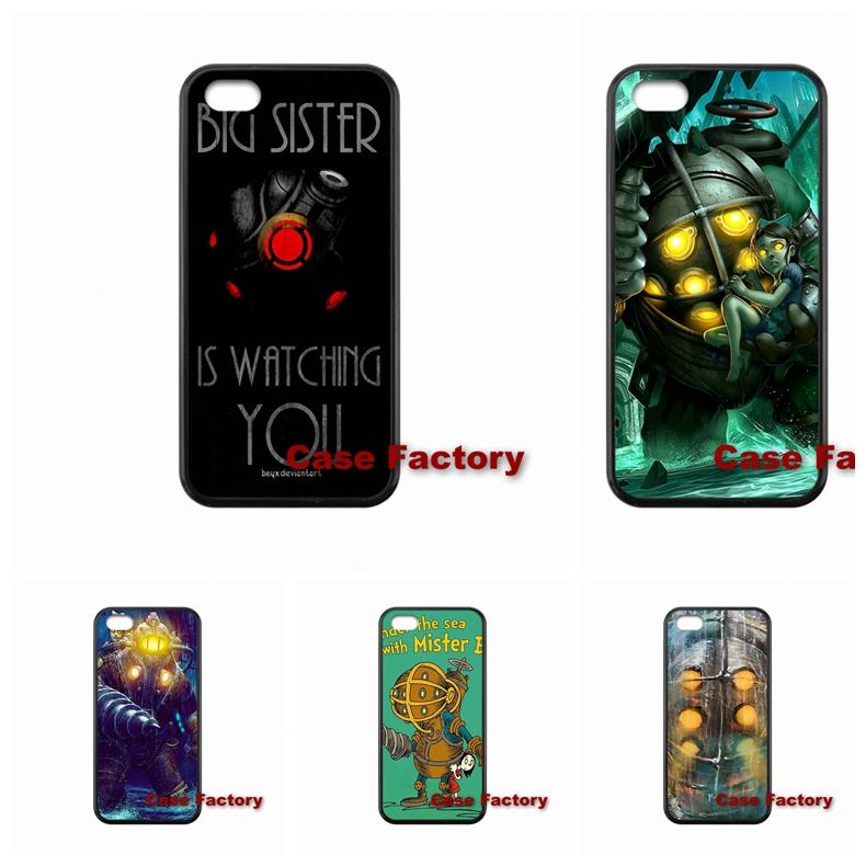 For Samsung S2 S3 S4 S5 S6 S7 edge HTC One X S M7 M8 mini M9 Plus Desire 820 Moto Popular Bioshock Shoot Game Cell phone(China (Mainland))