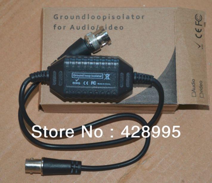 freeshipping 10pcs CCTV Camera Video Balun Ground Loop Isolator Coaxial Cable BNC Balun Connectors(China (Mainland))