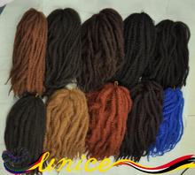 Marley Hair Superem Afro Twist Braid Kinky Braid Extension Hair Synthetic Fiber Marley Braids Styles Marley Hair Weave