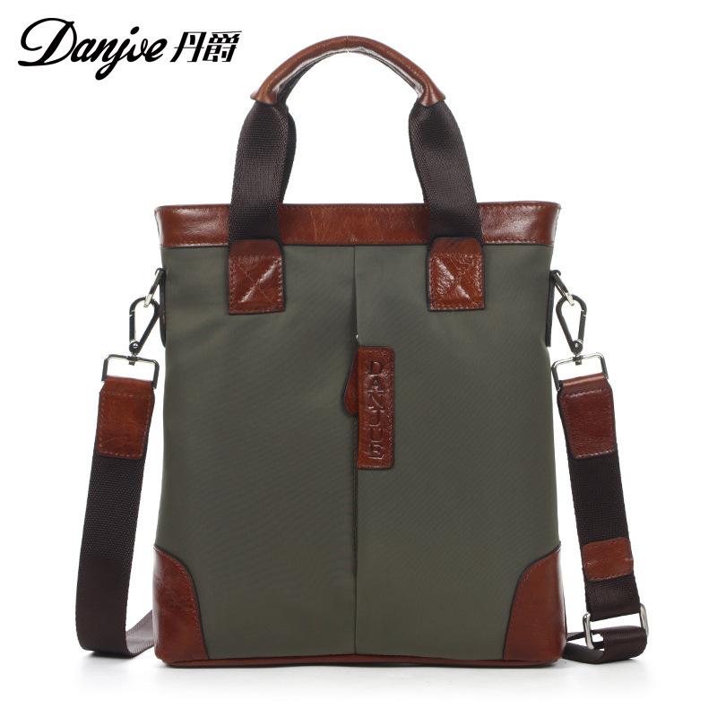 Mens business messenger bags Dan Jue authentic handbag men shoulder bag Oxford cloth manufacturers direct support mixed batch p<br><br>Aliexpress