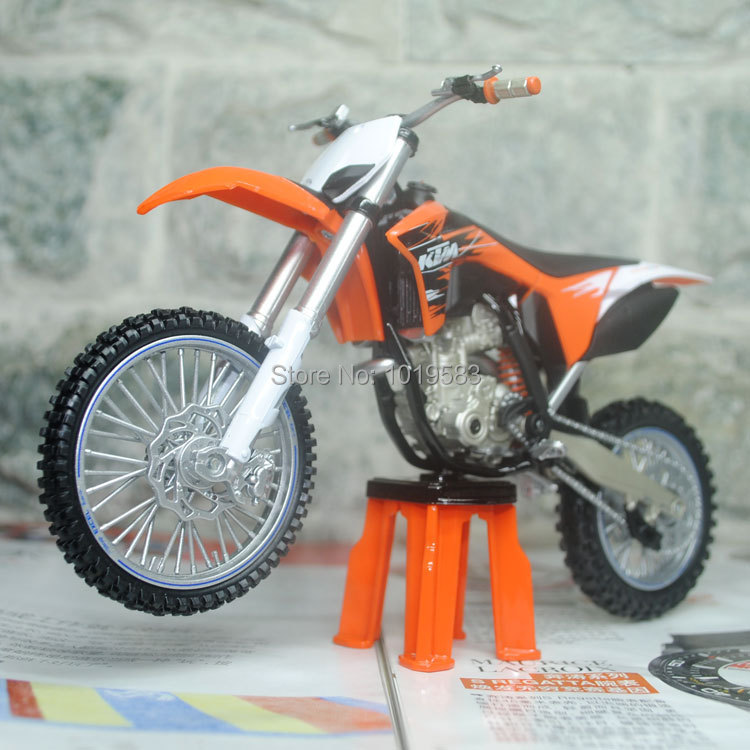 JOYCITY 1/12 Scale Motorcycle Toys KTM 350SXF Diecast Metal Motorbike Model Toy New In Box For Collection/Gift(China (Mainland))