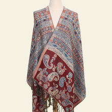 Paisley Tippet de la India bufanda de invierno bufandas étnicas moda estola algodón indio Echarpe 190*70 cm(China)