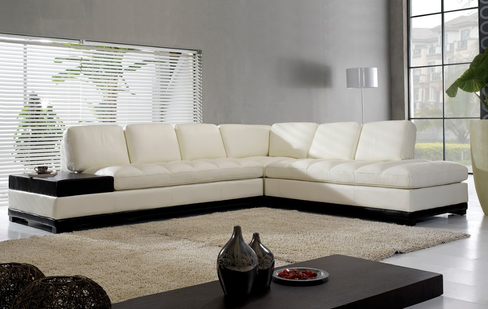 High quality living room sofa in promotion/real leather sofa sectional ectional/corner sofa living room furniture couch sofas(China (Mainland))