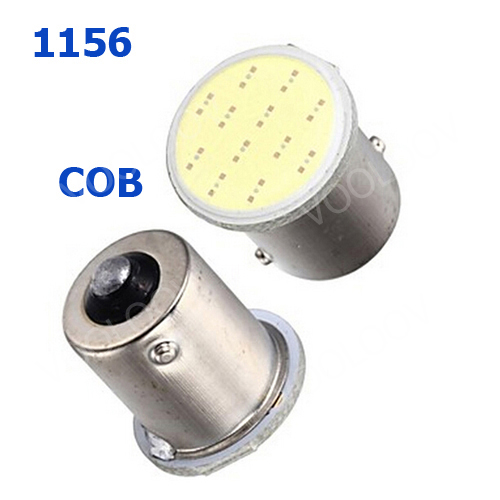 Super White cob p21w 12SMD led 1156 ba15s 12v bulbs car styling RV Truck Interior Light