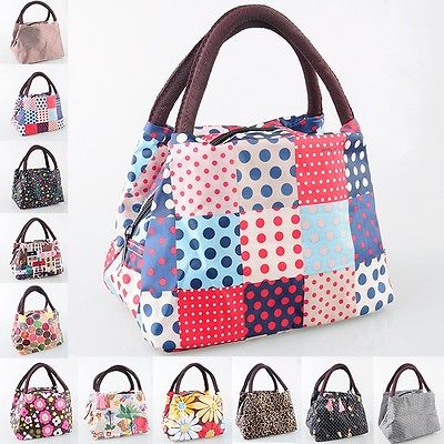 Гаджет  New Women Outdoor Canvas Lunch Casual Handbag Picnic Totes Carry Bag Box Storage None Камера и Сумки