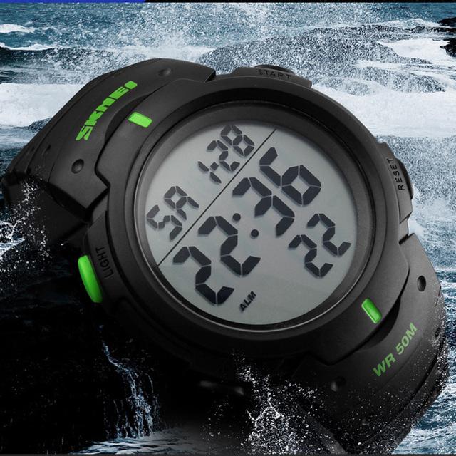 Zegarek unisex SKMEI sportowy wytrzymały dla aktywnych