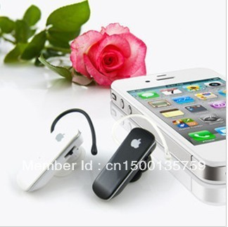 Free Shipping wholesale and retail Wireless Mini Bluetooth Earphone for Iphone
