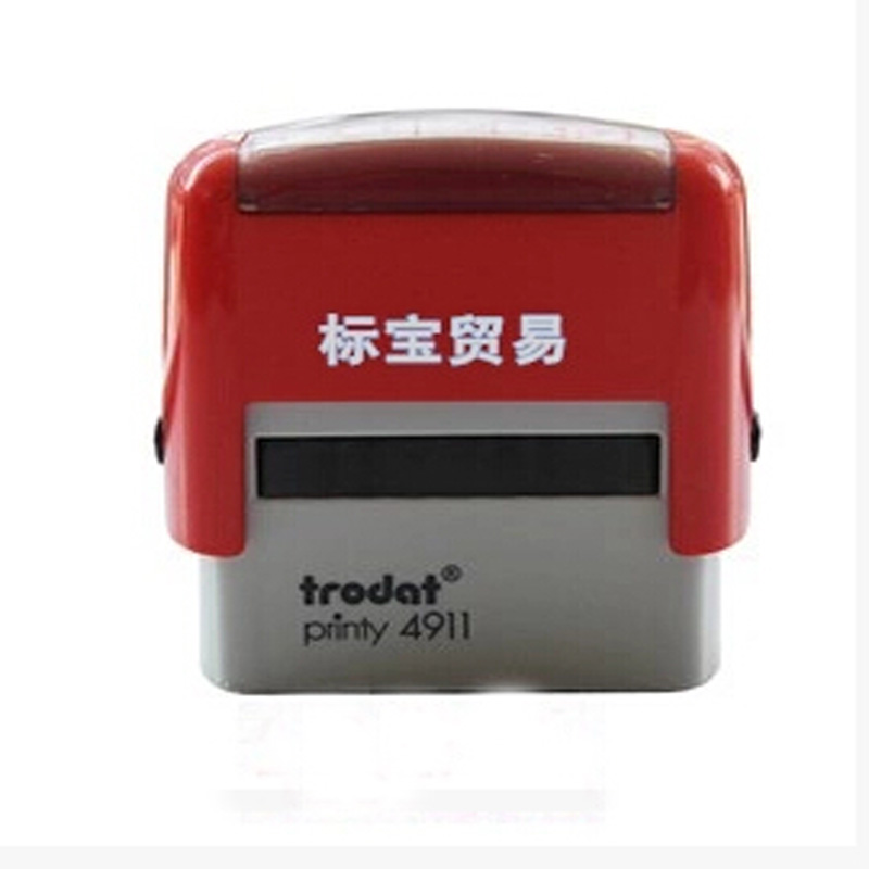 Office self inking letters rubber stamp custom alphabet for Self inking letter stamps