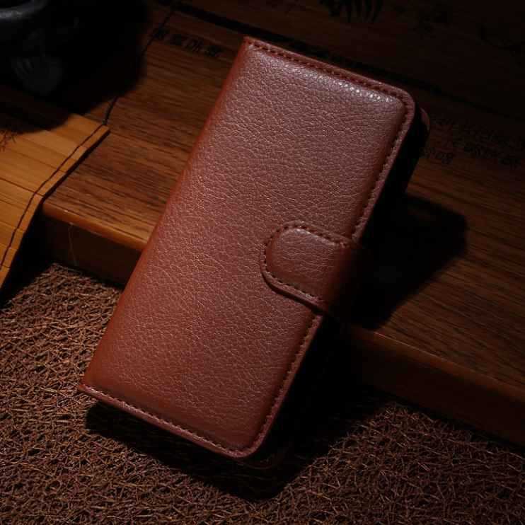 9 colors luxury Wallet Credit Card Book Style Flip Stand Leather Case Back Cover Sony Xperia M2 Aqua D2406 D2403 - ZHUOHUI TECHNOLOGY HOLDING LTD store