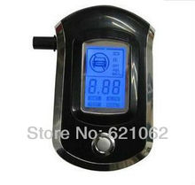 Prefessional Mini Police Digital LCD Breath Alcohol Tester Breathalyzer Freeshipping(China (Mainland))