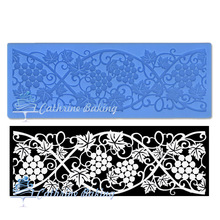 factory supply FDA approval sugar lace mat for cake icing(China (Mainland))