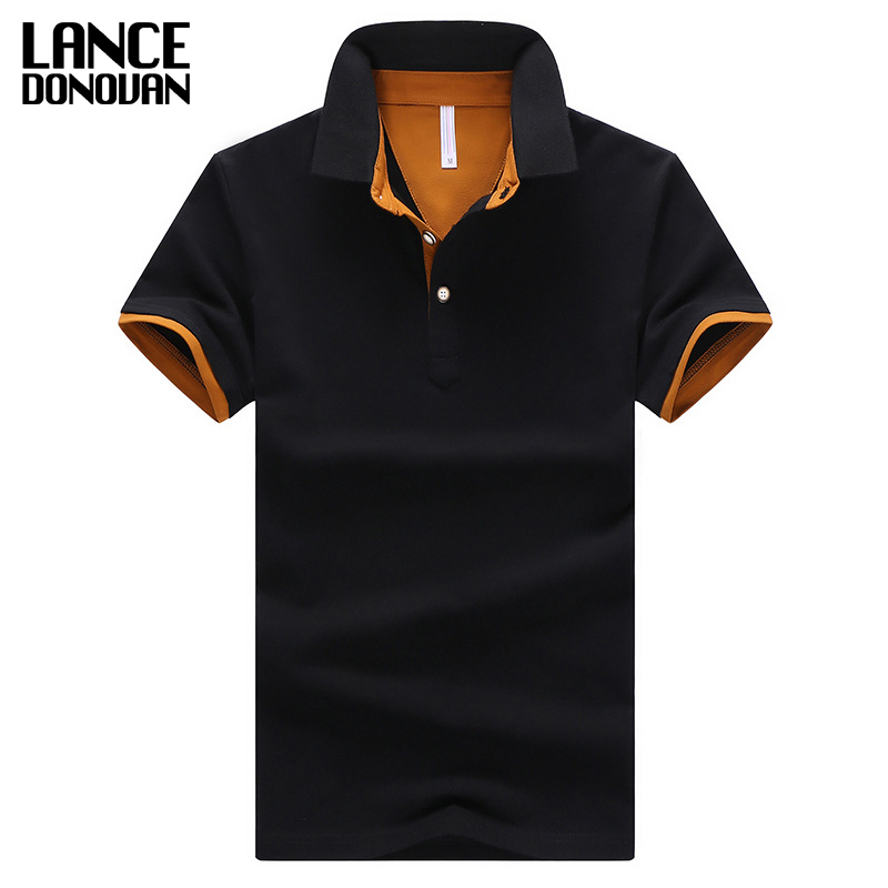 2017 Summer Short Sleeve Polo Shirt Men M-4XL ASIAN SIZE 11 Solid color Choose