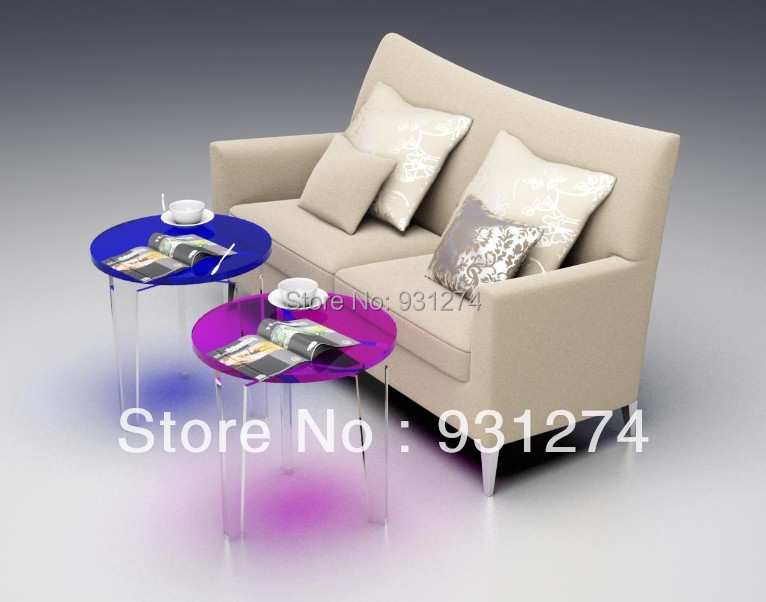 Acrylic Side End Table/Lucite,Plexiglass ,Perspex Coffee Table/Living Room Furniture<br><br>Aliexpress