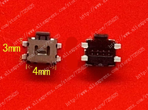 10 pcs for HTC G11 S710e G12 S510e G17 EVO 3D 4G Touch volume switch button switch motherboard(China (Mainland))