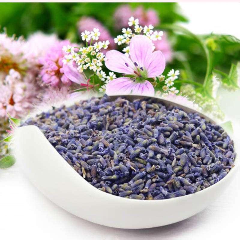 300g High Quality Lavender Tea Lavender Loose Tea Organic Lavender Flower Tea Good To Sleep Suitable