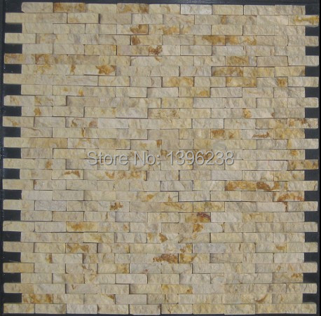 Stone mosaic for wall,Stone mosaic,Stone mosaic for outdoor wall,LSST006