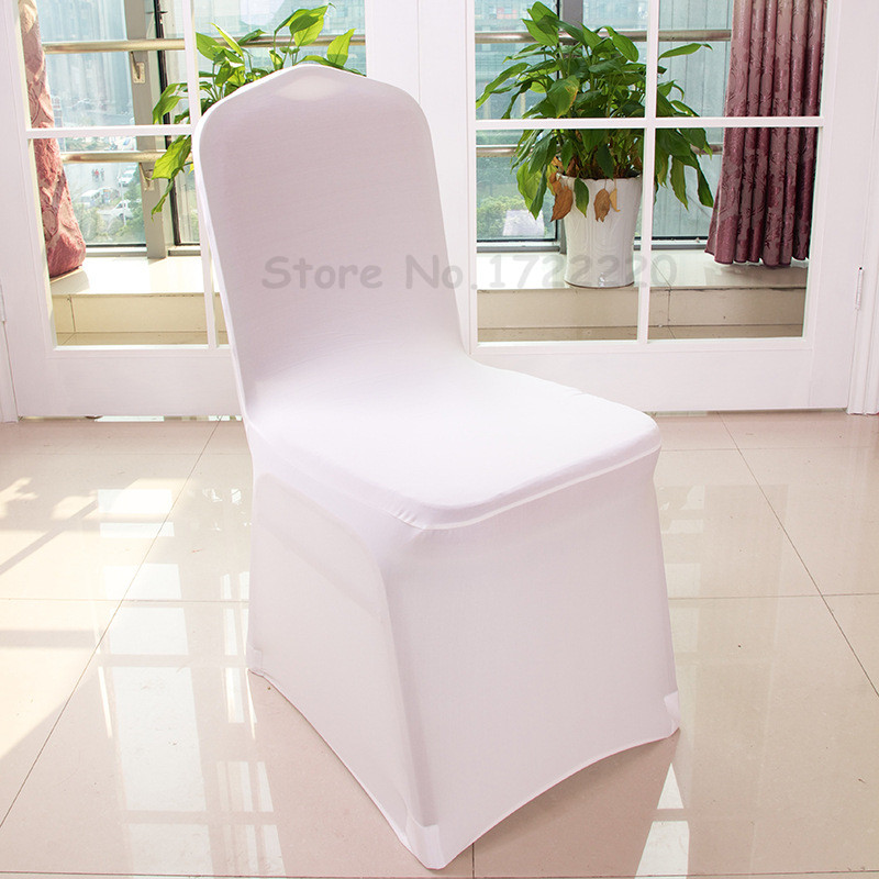 Wholesale 100pcs Universal Polyester Spandex Wedding Chair