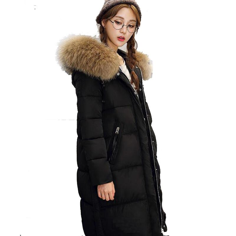 Online Get Cheap Fur Hooded Parka Coat Pink -Aliexpress.com