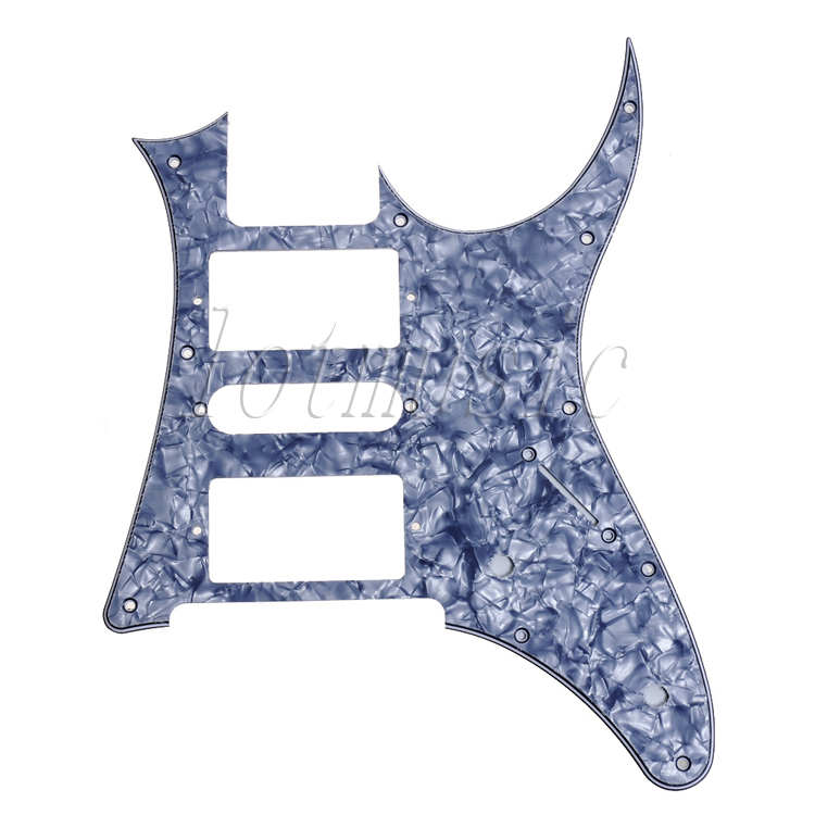 Electric Guitar Pickguard replacement Ibanez RG250 style Replacement Gray Pearl HSH(China (Mainland))