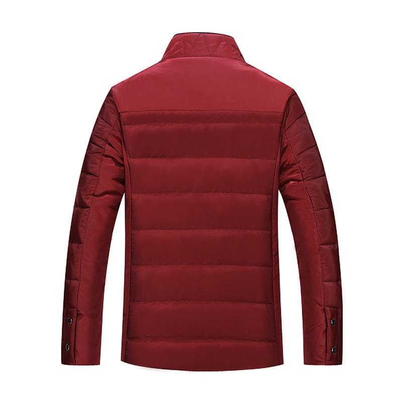 Скидки на Большой 7XL8XL мужской воротник толстый ватник Корейской версии случайные высокое качество человек зимние мужские куртки пальто бесплатно доставка