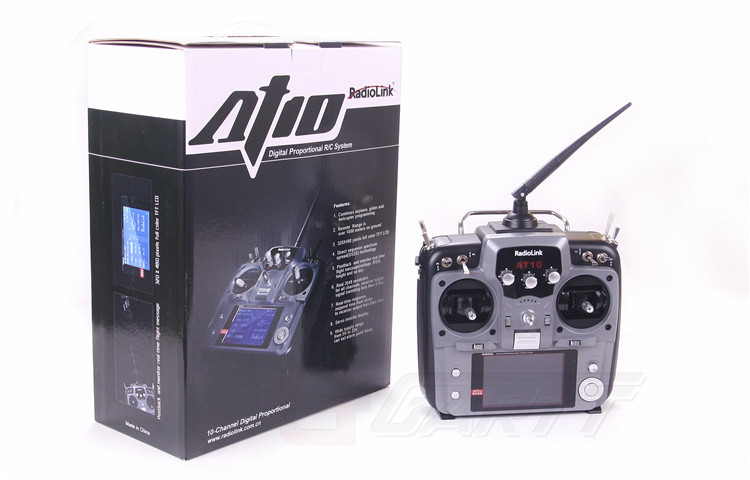 Freeshipping Radiolink 2.4GHz 10 Channel Transmitter Radio & Receiver for RC Helicopter 2km Range(China (Mainland))