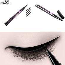 1 pcs Makeup Beauty Black Waterproof Liquid Eye Liner Pens Pencil Cosmetic Waterproof  Make Up Gift for Fashion Women(China (Mainland))