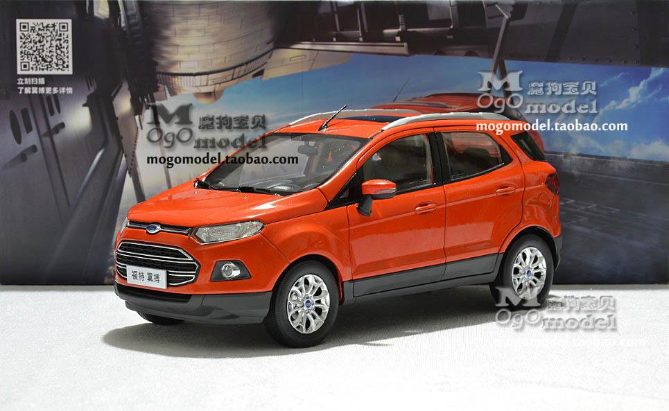 -Original changan FORD wings beat bo ECOSPORT SUV 1:18 model alloy car - yinbang yang's store