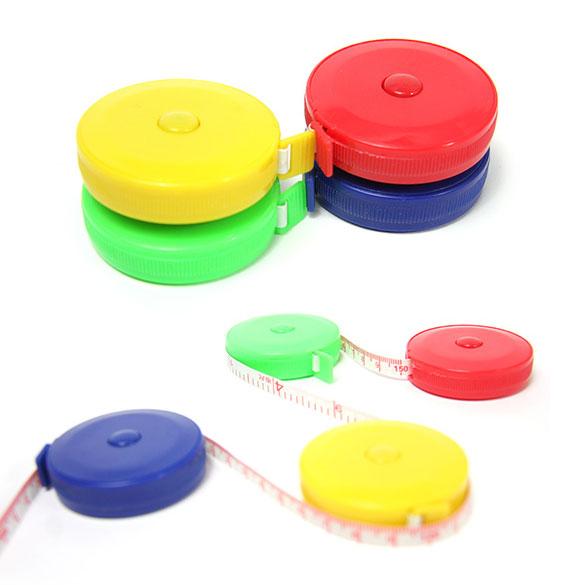 150CM Roulette Measuring Tape Measure Retractable Colorful Portable Ruler Centimeter/inch