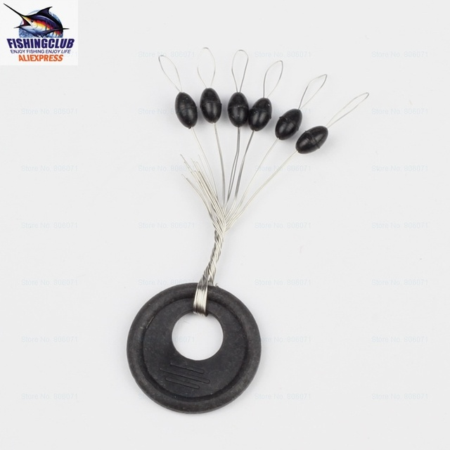 100pcs/LOT Stoppers Rainbow float Six-star bleaching lure raditional bleaching Fishing accessories FPJ02  WHOLESALE