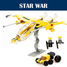 2015 New Battle Cattle Transport 282PCS Spaceship War Chariot Star Wars Building Blocks Bricks Starwars