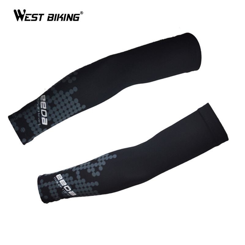 Black UV Protection Cycling Arm Sleeve For Men And Women Cycles Sun Protection Arm Cover Sleeve Bicicleta Ciclismo MTB Armwarmer(China (Mainland))
