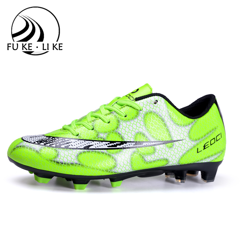 2016 new high quality custom soccer shoes man high ankle football shoes cheap soccer football boots(China (Mainland))