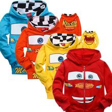 2015 New Children Hoodies Cars Pixar Sweatshirt Jacket Boys Spring Autumn Coat Kids Long Sleeve Casual Outwear Baby Clothing(China (Mainland))