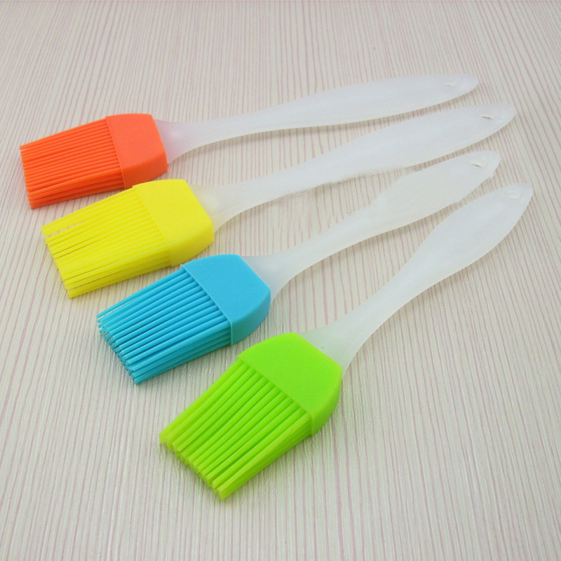 New Fashion Silicone Baking Bread Cake tools Pastry Oil Cream BBQ Utensil safety Basting Brush for Cooking Pastry Tools(China (Mainland))