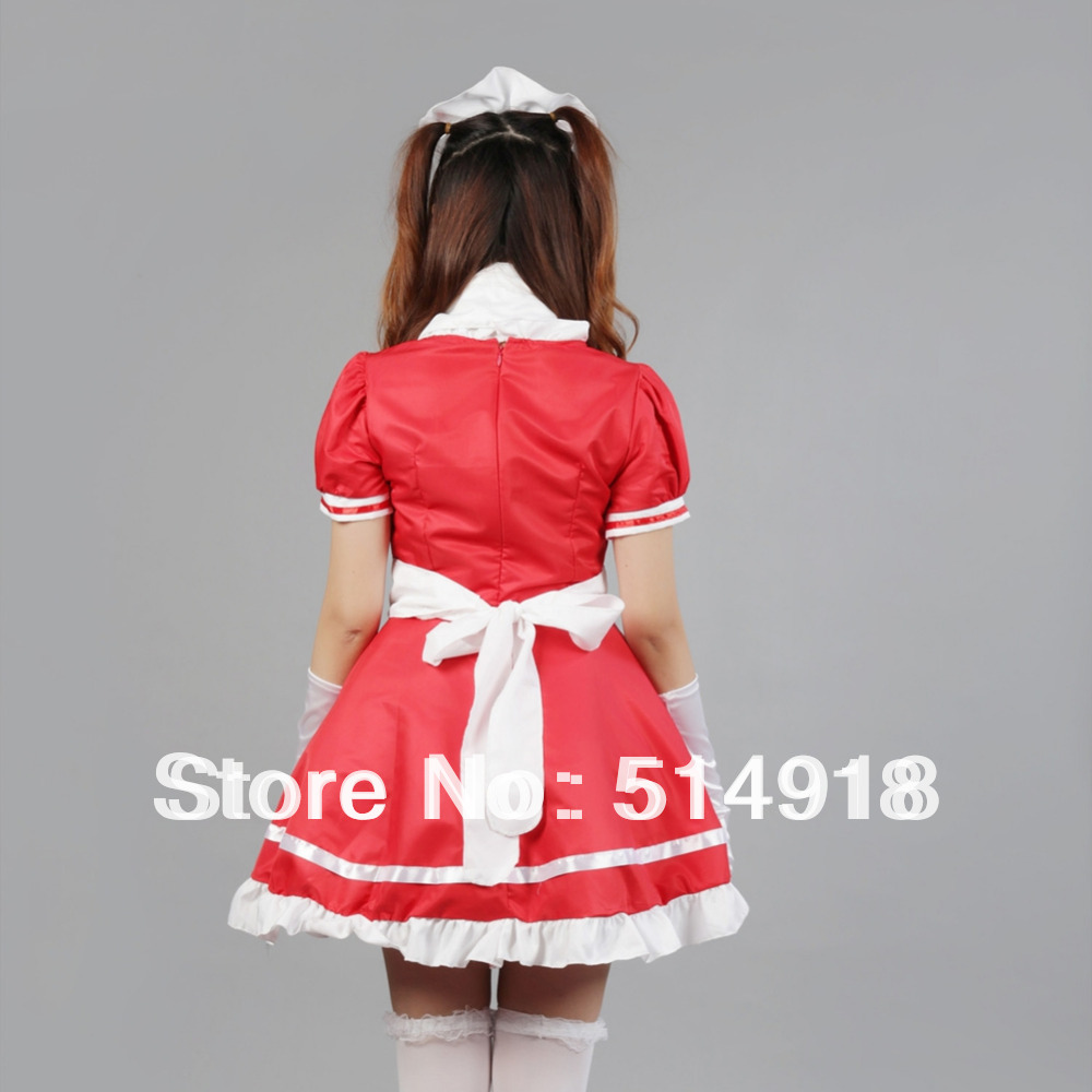 White apron fancy dress -  Tomsuit Sexy Costumes Dress Cute Anime Cosplay French Apron Maid Fancy Dress Lolita Maid Outfit Costumes