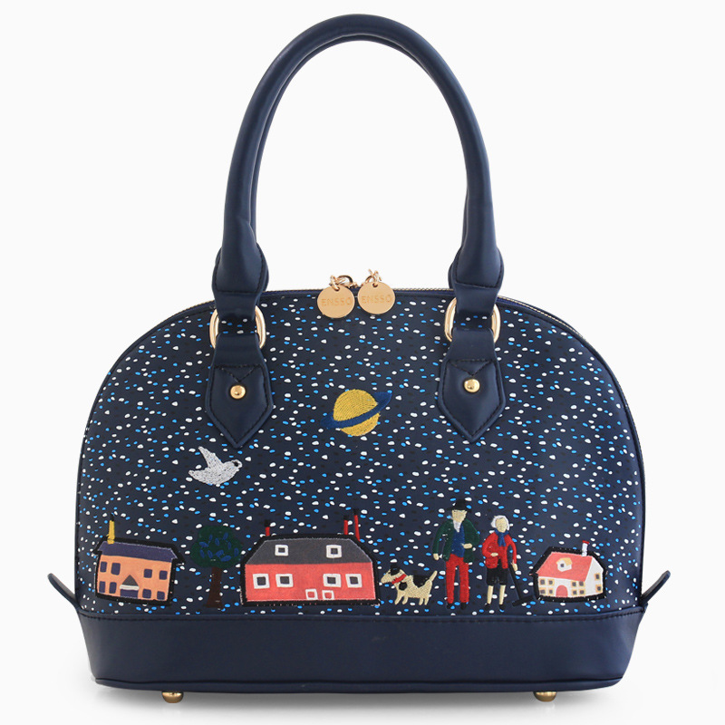 ISOS original 2015 new handbag retro shell bag embroidery collage bags Shoulder Bag Messenger Bag<br><br>Aliexpress