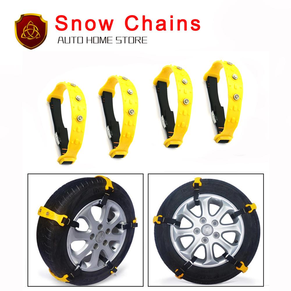 Hot Sale 2017 New 10pcs/lot 37x4.7cm Car Tire Snow Chains Beef Tendon VAN Wheel Tyre Anti-skid TPU Chains DHL Fast Shipping