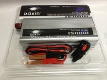 free shipping DC12V to AC220V 50HZ 1500W Car Power Inverter With USB Port charger(China (Mainland))