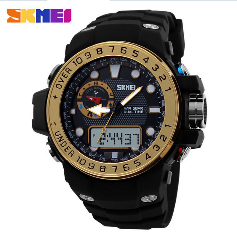 Watches men sports luxury brand digital watches fashion waterproof watch skmei 1063 Amry military Wristwatch Relogio Masculino