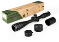 shipping 4 16X40 Mil dot three color reticle riflescope hunting rifle scope shooting GZ10143