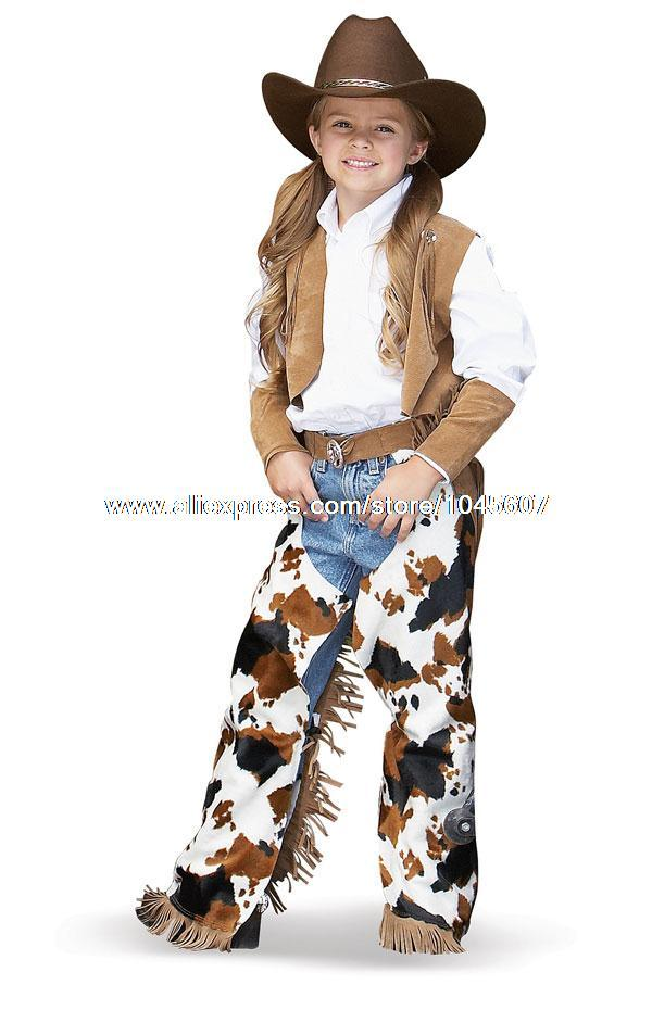 Girl Cowboy Costume Cowboy Cowgirl Child Costume