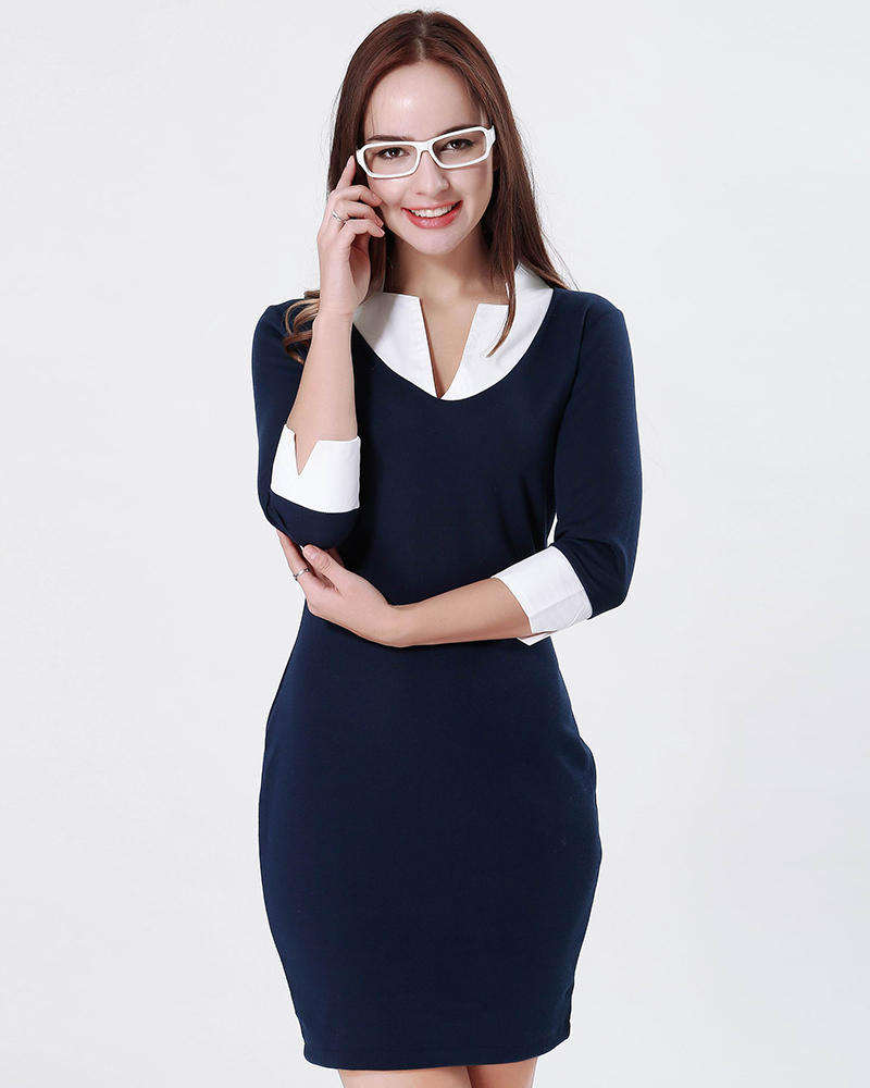 new fashion women casual dress slim summer knitted