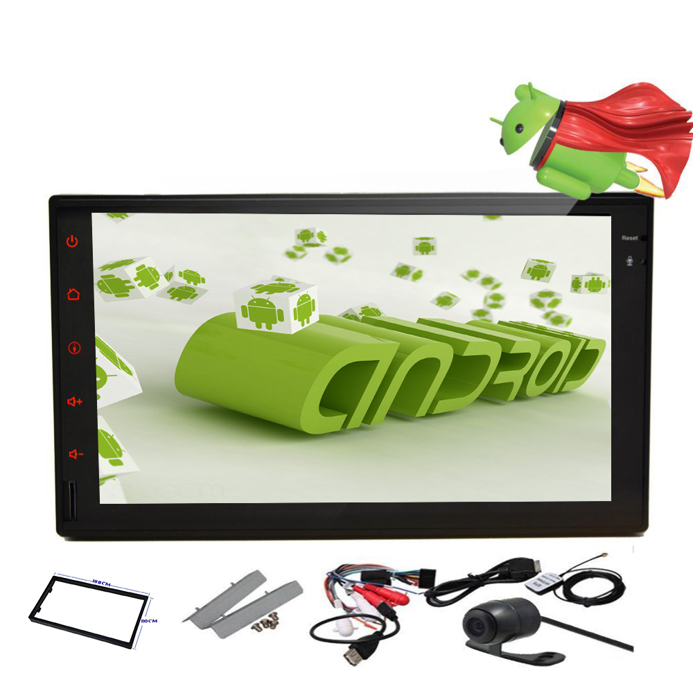 Pure Android 4.2.2 FULL Touch Screen Car PC Tablet DVD Player Stereo Ipod Radio Wifi Microphone Double 2 Din Car DVD Player(China (Mainland))