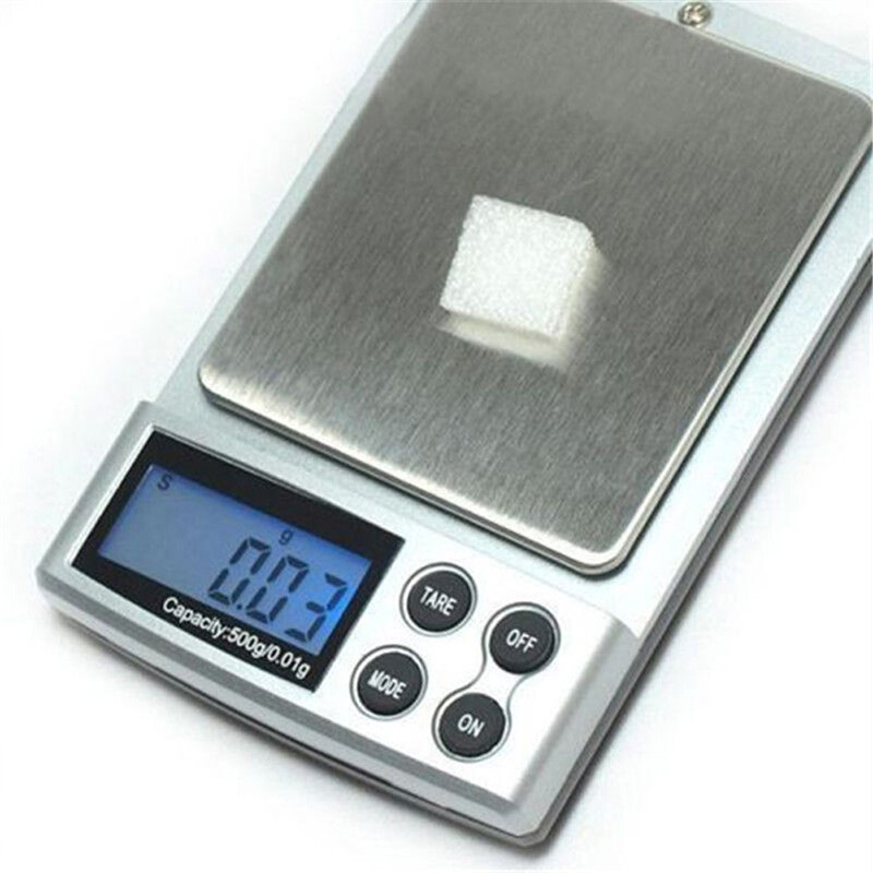 500g x 0.01g Mini Basculas Precision Digital Pocket Scale Gold 0.01g Digital Scale Unit of Measurement Pocket Electronic Scales(China (Mainland))
