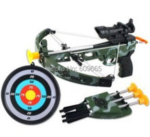 Children bow archery bow and arrow shooting game with infrared