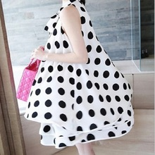 2016 new summer women's dresses chiffon print maternity dresses pregnancy dresses maternity clothing summer clothing 16750